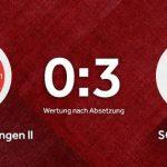 Vereinswappen vom Viktoria Jöhlingen und SC Schielberg auf einem roten Hintergrund