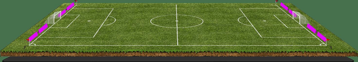 Darstellung Spielfeld SC Schielberg für Banner Sponsoring